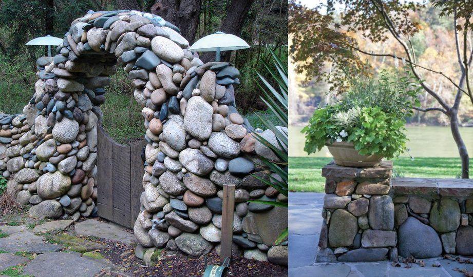 Cum se construieste un gard din piatra la curte?